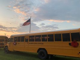 Less than a week before the first day of school, Chuck O'Neill, the transportation director for...