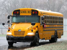Winner: During a winter storm, Katrina Falk of Shelby Eastern Schools in Shelbyville, Ind.,...