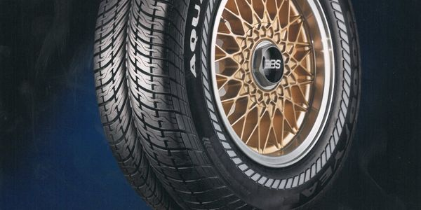 Goodyear said the original Aquatred tire was based on a concept tire created in 1982 for Walt...
