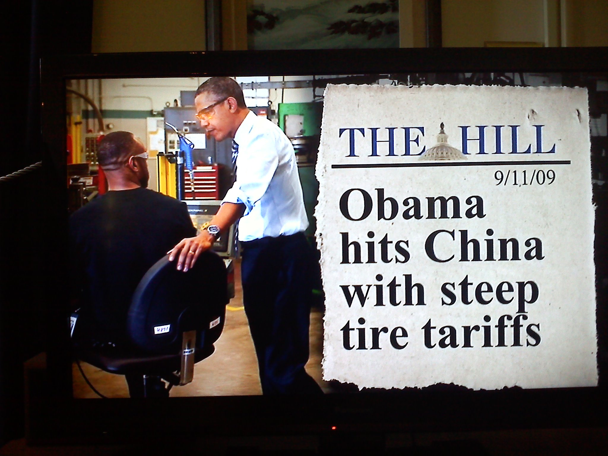 Tire tariffs saved jobs? Don't believe everything in a campaign ad