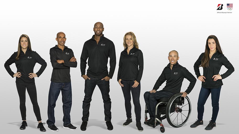 Bridgestone Sponsors Six Summer Olympic Hopefuls