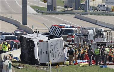 Texas Bus Crash Kills Two, Injures 41