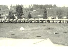 This shot of Northshore School District buses from 1962 was submitted by Connie Noll. The...