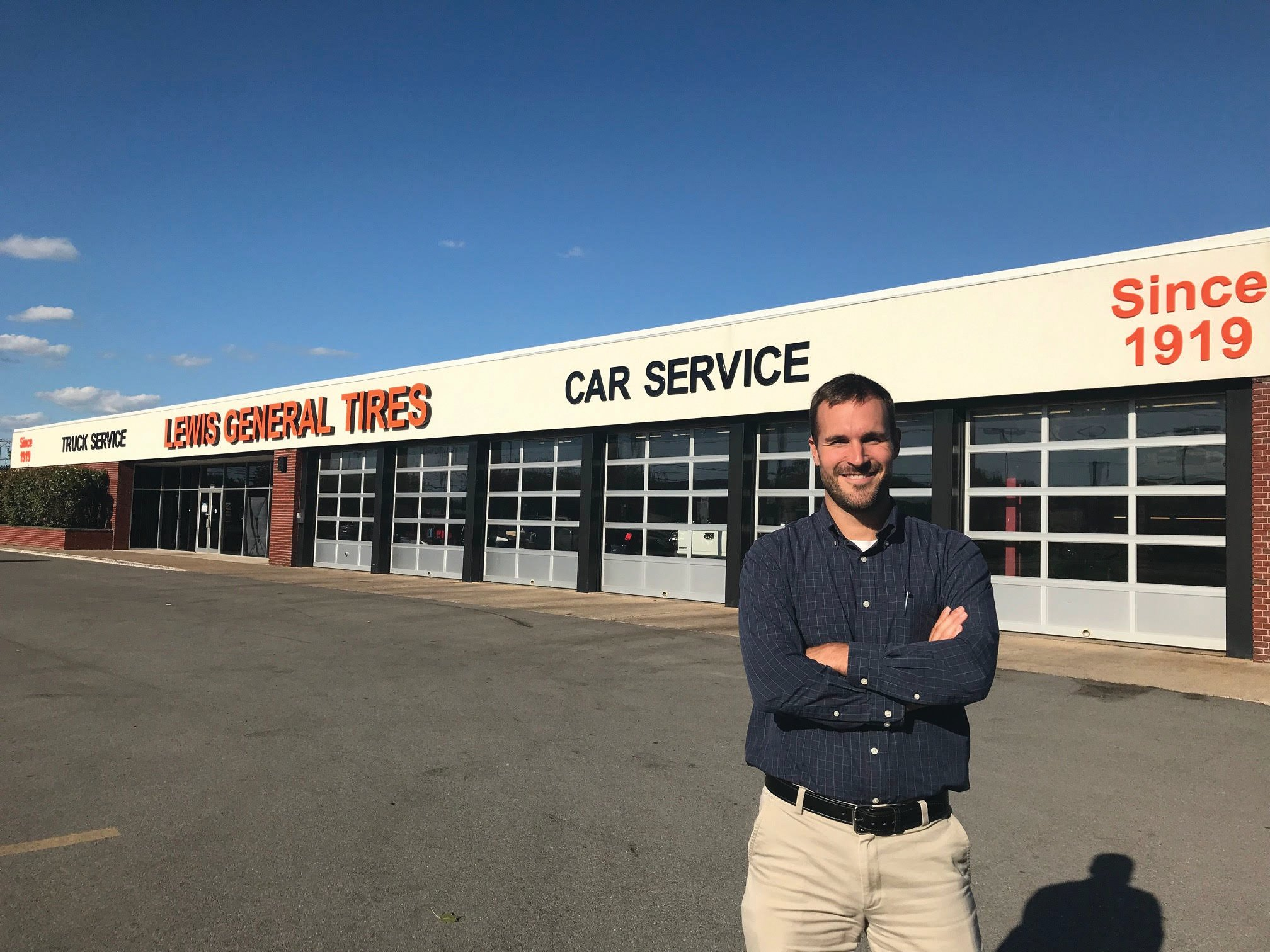 Family Keeps Lewis General Tires Going for 100 Years