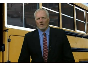 "In a new PSA in Utah, former basketball All-Star Mark Eaton explains that the state's school buses ""save over $40 million and reduce over 11 million gallons of fuel."""