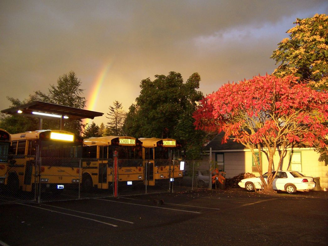 Theresa Thomsen, transportation supervisor at Washougal (Wash.) School District, snapped this...