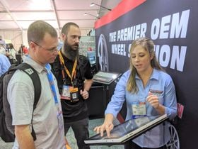 Blog 5: Success Stories -- and a Goodbye -- at the Global Tire Expo