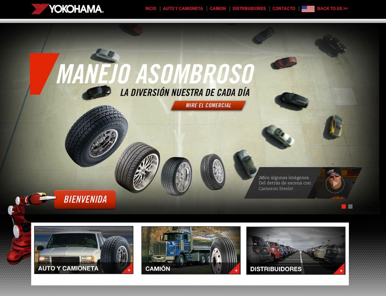 Yokohama targets Mexico with website