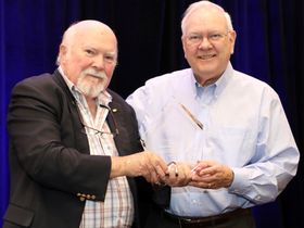 Consultant Dick Morgan Receives Lifetime Achievement Award