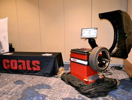 Hennessy Industries Inc. had one of its latest Coats tire balancers delivered prior to the grand...