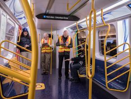 During December's open house, MTA staff was on-hand and on social media as customers helped...