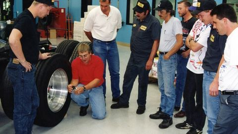 Here I am in the old ITRA Training Center teaching a commercial tire service class. Based on my...