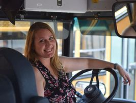 Jessica Palmer got a letter that reinforced the impact school bus drivers can have in students'...