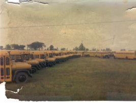 A shot submitted by Dan Kobussen of a school bus inspection from 1970.