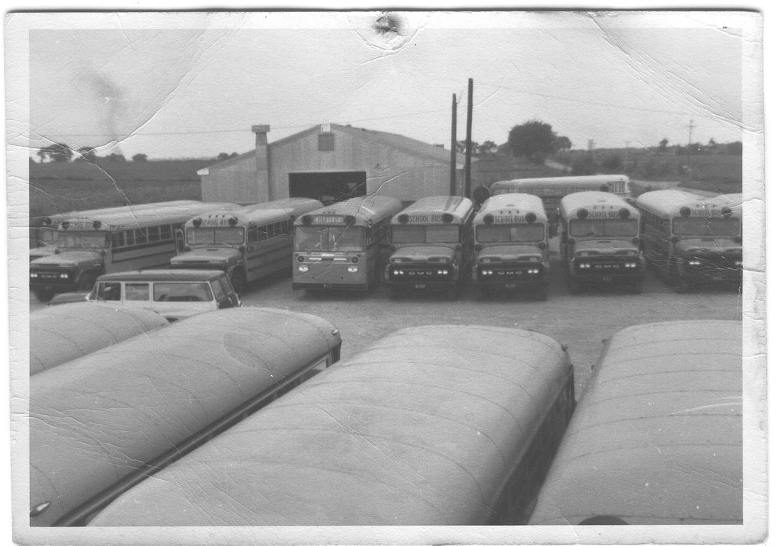 In this shot submitted by Dan Kobussen of Kobussen Buses Ltd. from September 1963, the company's...