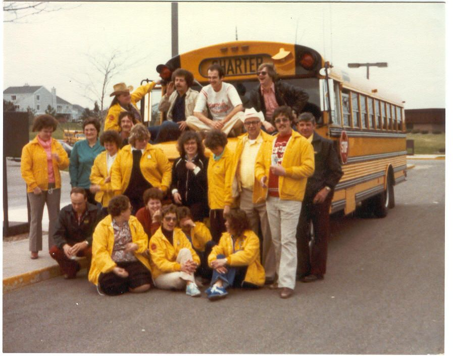 This photo was taken in May 1982. Three Kobussen drivers placed in the top 10 at the Wisconsin...