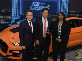Ford Singles Out Pirelli for Its Excellence