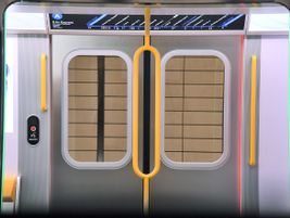 The expanded doors are designed to reduce delays and speed up train movement by speeding...