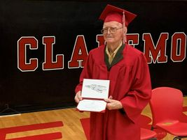 Shaw, a 95-year-old World War II veteran, dropped out of high school at 17 to work as a school...