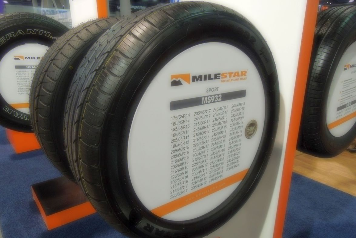 Tireco's Milestar MS932 Sport is available in 63 sizes.