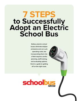 7 Steps to Successfully Adopt an Electric School Bus