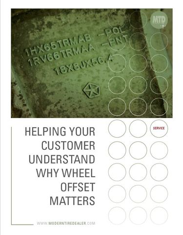 Helping Your Customer Understand Why Wheel Offset Matters