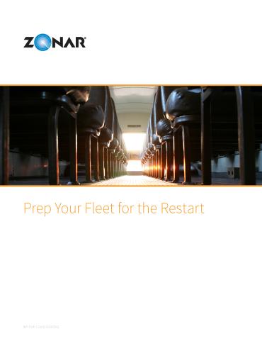 Prep Your Fleet for the Restart