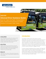 Advanced Driver Assistance System - How the Taipei City Public Transportation Office Implemented Advantech's ADAS Solution to Increase Public Safety