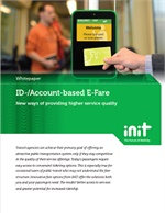 ID/Account-Based E-Fare in Public Transit