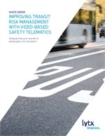 Improving Transit Risk Management with Video-based Safety Telematics