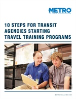 10 Steps for Transit Agencies Starting Travel Training Programs