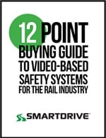 12 Point Buying Guide to Video-Based Safety Systems for the Rail Industry