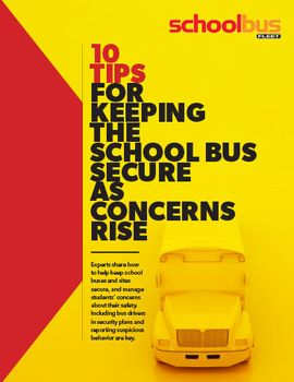 10 Tips For Greater School Bus Security