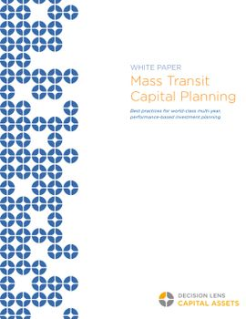 Mass Transit Capital Planning