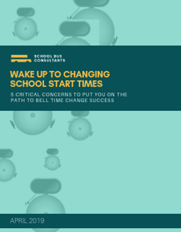 Wake Up to Changing School Start Times