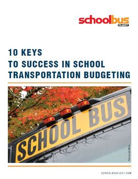 10 Keys to Success in School Transportation Budgeting