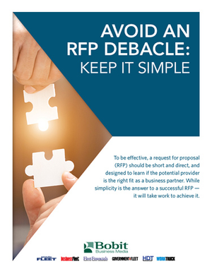 Avoid an RFP Debacle: Keep it Simple