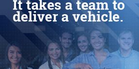 It Takes a Team To Deliver a Vehicle