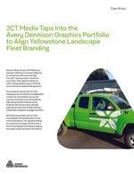 2CT Media Taps Into the Avery Dennison Graphics Portfolio to Align Yellowstone Landscape Fleet Branding