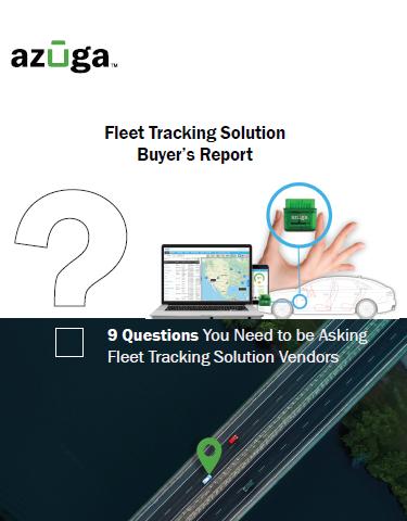 您需要询问车队跟踪解决方案供应商的问题
