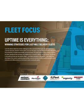Uptime is Everything: Inside Last-Mile Delivery Fleets