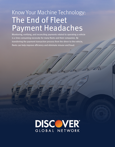 Know Your Machine Technology: The End of Fleet Payment Headaches