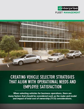 Creating Vehicle Selector Strategies That Align With Operational Needs And Employee Satisfaction