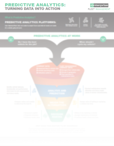 Predictive Analytics: Turning Data into Action Infographic