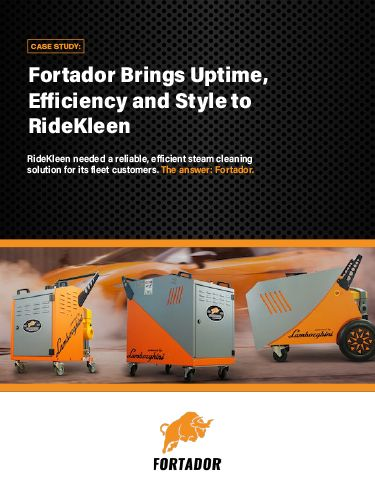 Case Study: Fortador Brings Uptime, Efficiency and Style to RideKleen