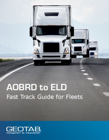 AOBRD to ELD: Fast Track Guide for Fleets