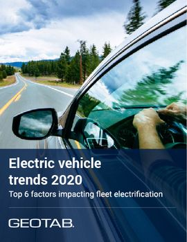 Top Factors Impacting Fleet Electrification in 2020