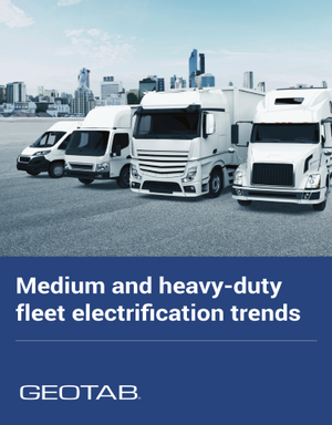 Medium and heavy-duty fleet electrification trends