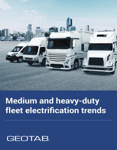 Medium and heavy-duty fleet electrification trends