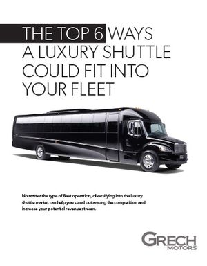 The Top 6 Ways a Luxury Shuttle Could Fit into Your Fleet